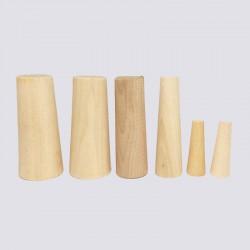 Tapones cónicos de madera...